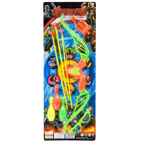 Лук со стрелами, кеглями и очками, 1168F-2