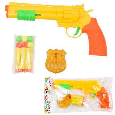 Пистолет, с поролоновыми пулями и жетоном, 201-16