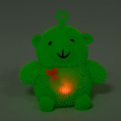 Антистресс Yoyo, мишка с бантиком, с подсветкой, MM 0012046