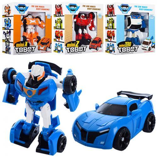 Трансформер 238X-Y-Z-ZERO (60шт) ТВТ, 12см, робот, 238X-Y-Z-ZERO