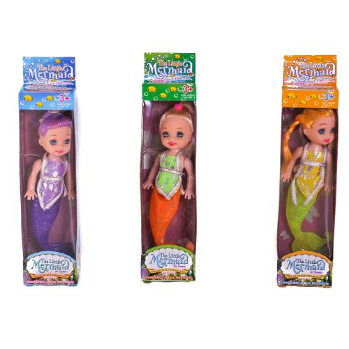 Кукла 4 вида микс,в кор, 7T-758B