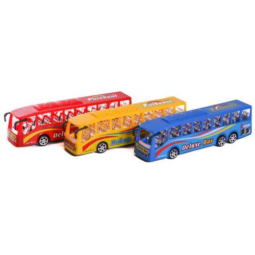 Автобус инерц.3 цвета,в пакете, 7T-XB001-1A