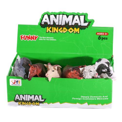 Животные 16098BC (288шт) от 11см, 2вида(дикие,дома, 16098BC