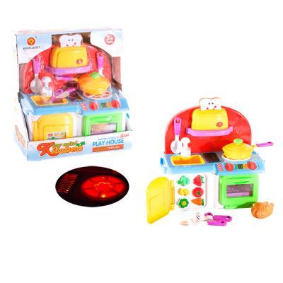 Мебель 1010 (12шт) кухня 27-32-15см, свет, звук, н