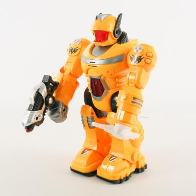 Робот UKA-A0108 (12шт) 25,5см,зв(укр),свет,ходит,п, UKA-A0108