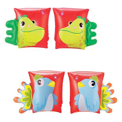 BW Нарукавники 23-15см, 2 вида (попугай, дракон), 32115
