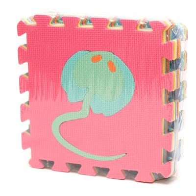 Коврик-мозаика EVA, морские животные