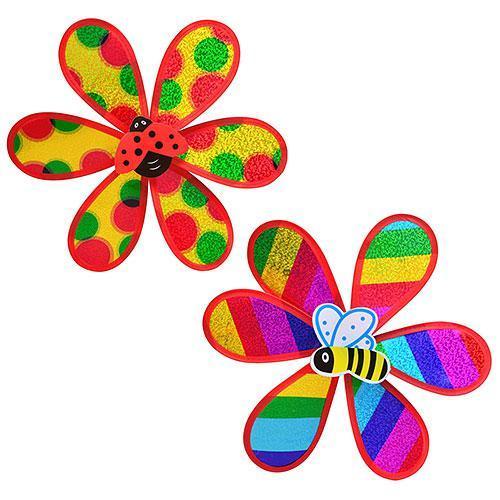 Ветрячок цветок, 2 вида, в кульке, 28-28см, M 0791