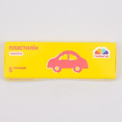 "Пластилин ""Малыши"", 5 цветов (цена за упаковку), GA-100301"