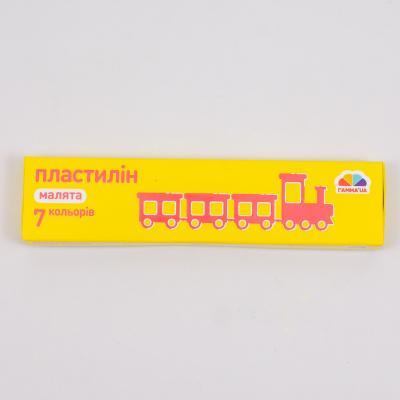 "Пластилин ""Малыши"", 7 цветов (цена за упаковку), GA-100302"