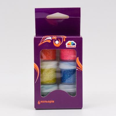 Краски гуашевые, 6 цветов (цена за упаковку), GA-400204