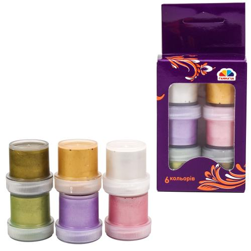 Краски гуашевые, 6 цветов (цена за упаковку), GA-400201