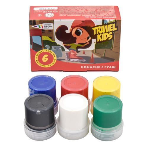 Краски гуашевые, 6 цветов (цена за упаковку), GA-321034-TK