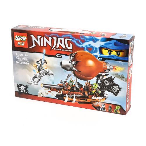 """Конструктор в дисплее LEPIN """"NinjaG"""", 6029"""