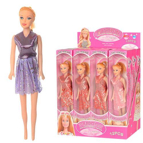 Кукла 26см, в кор-ке, 12шт(3цвета) в дисплее, 28,5, 096-B