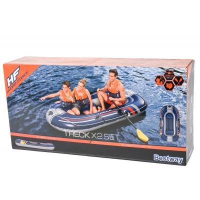 Лодка Bestway, Hydro-Force Raft, 255х127х41 см