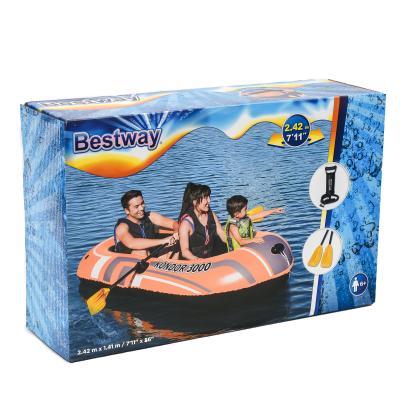 Лодка Bestway, 242х141 см