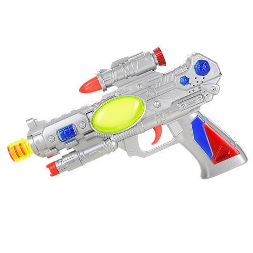 Пистолет 23,5см, звук, свет, на бат-ке, в кульке, 2013P-1
