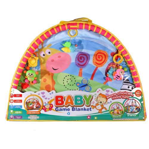 Коврик для младенца 325-66-68-69 (18шт) 81-81cм,ду, 325-66-68-69