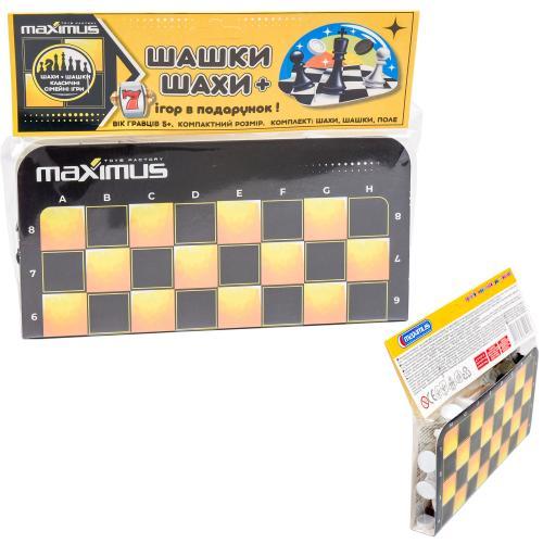 "Набор ""Шашки + Шахматы"", MAX 5446"