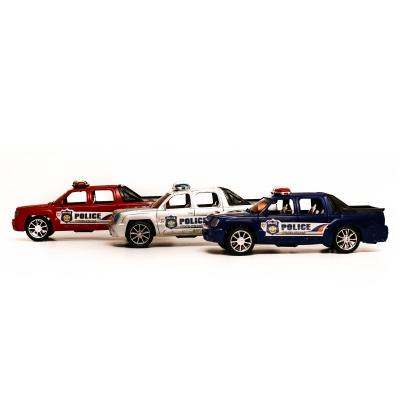 Машинка полиция, инер-я, 21,5см, 3цвета, в кульке, 313-16