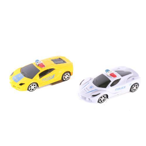 Машинка 333-2 (180шт) инер-я, полиция, 2вида(2цвет, 333-2
