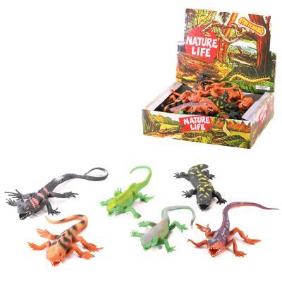 Животное A100-DB (216шт) ящерица, от 19см, 36шт(6в