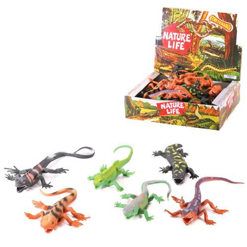 Животное A100-DB (216шт) ящерица, от 19см, 36шт(6в, A100-DB