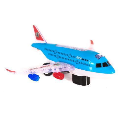 Самолет A380-300-400KF (72шт) 23см, звук, свет, ед, A380-300-400KF