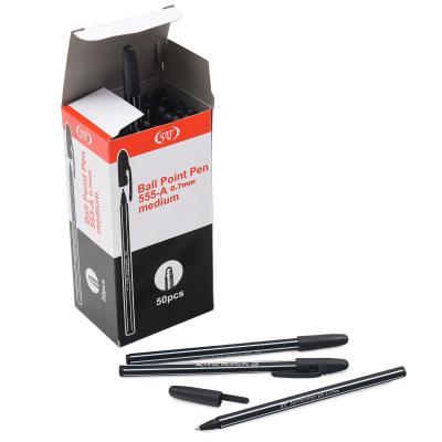 Ручка шариковая черная SAT-555-CH