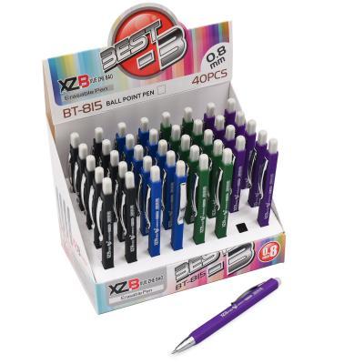 Ручка шариковая ''Пишиет-стирает'' с резинкой 0,8м