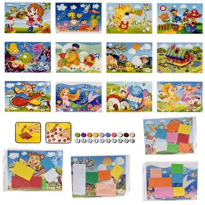 Набор для детского творчества ''Аппликация-мозаика