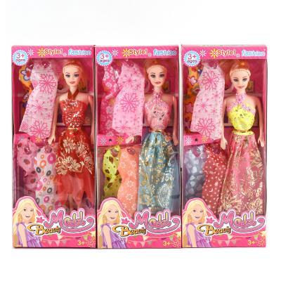 Кукла 5533A-3 , 5 видов, с набором платьев, в кор