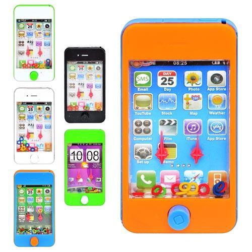 Игра водяная телефон, 6 цветов, в кульке, 11,5-6см, M 1100